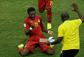 WORLD CUP: GHANA EXIT AFTER MUNTARI, BOATENG EXPULSIONS