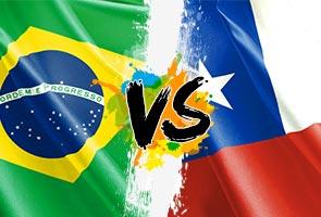 BRAZIL-CHILE DIJANGKA MENYERANG, COLOMBIA-URUGUAY PULA TANPA TUNGGAK UTAMA