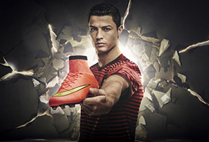WORLD CUP 2014 : SOCCER STARS SHOW OFF THEIR CLEATS