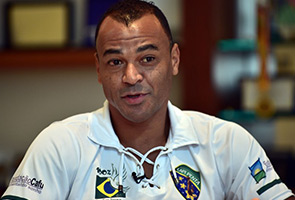WORLD CUP: BRAZIL WILL CELEBRATE COME KICKOFF - CAFU