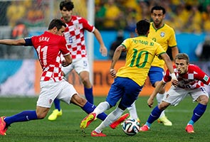 WORLD CUP 2014 OPENING MATCH: BRAZIL (3) VS CROATIA (1)