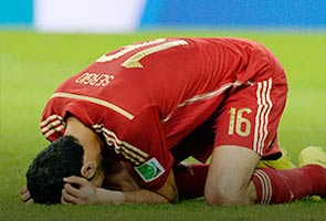 WORLD CUP 2014: PAINFUL MOMENTS