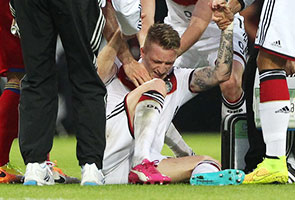 WORLD CUP: WHEELS COME OFF 'ROLLS REUS' TOURNAMENT HOPES