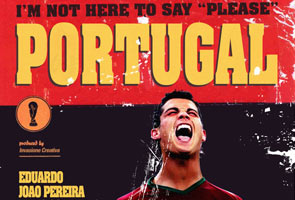 POSTER 'MOVIE TO WORLD CUP' SENTUHAN PEREKA ITALI