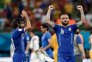 ITALY'S SUPER MARIO SINKS ENGLAND