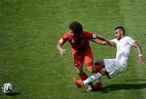 BELGIUM BANGKIT TEWASKAN ALGERIA 2-1
