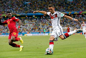 GERMANY DRAW 2-2 AGAINST GHANA