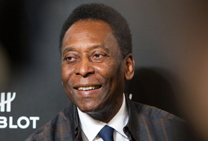 WHERE'S PELE? 'THE KING' SHUNNED AT CUP