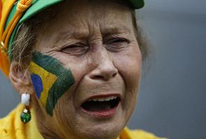 KALAH DENGAN JERMAN, PEMINAT CARUT PRESIDEN BRAZIL
