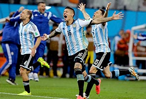 SABELLA'S 'GREAT JOY' AS ARGENTINA REACH FINAL