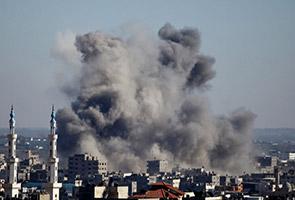 Kematian hari kelima serangan di Gaza kini 112 orang
