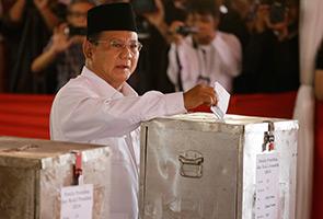 Prabowo cabar keputusan pemilihan Presiden Indonesia