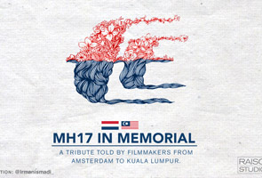 MH17: International film maker pays tribute for those affected