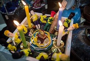 BRAZIL'S MACUMBA PRIESTS READY VOODOO DOLLS FOR WORLD CUP