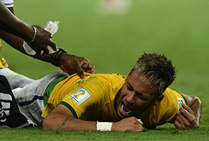 WORLD CUP: NEYMAR INJURY BOMBSHELL ROCKS BRAZIL