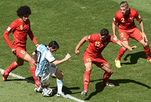 ARGENTINA TAKES OUT BELGIUM WITH A 1-0 VICTORY