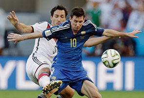 A TIEBREAKER DURING WORLD CUP 2014 HALF TIME
