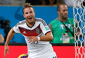 GOETZE STRIKES AS GERMANY WIN WORLD CUP