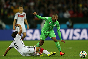 GERMANY DEFEAT ALGERIA 2-1 IN EXTRAS TIME