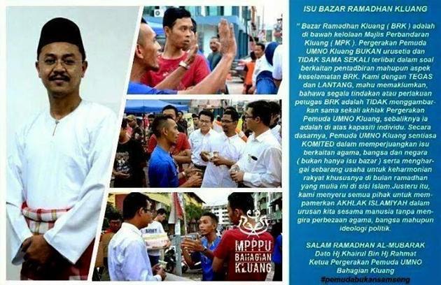 Kenyataan Ketua Pemuda UMNO Kluang