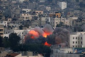 Serangan udara Israel masuk hari ke-3, 70 maut