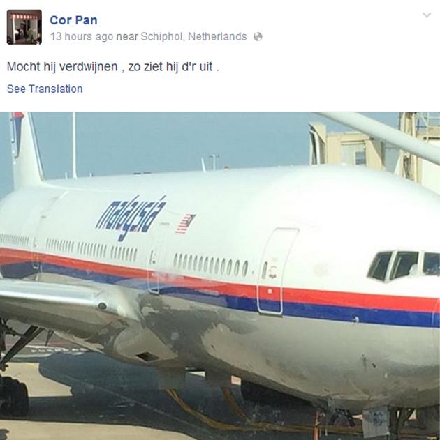 Cor Pan, MH17