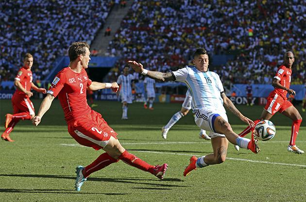 ARGENTINA MENANG TIPIS KE ATAS SWITZERLAND 1-0
