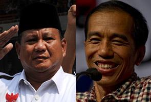 Jokowi umum kemenangan, Prabowo enggan mengalah