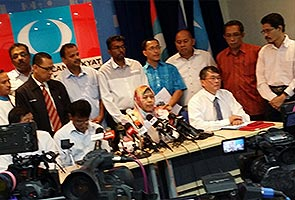 Sidang media MPN Selangor kecoh
