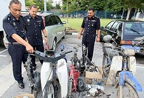 Kumpulan curi motosikal Geng Bedul tumpas