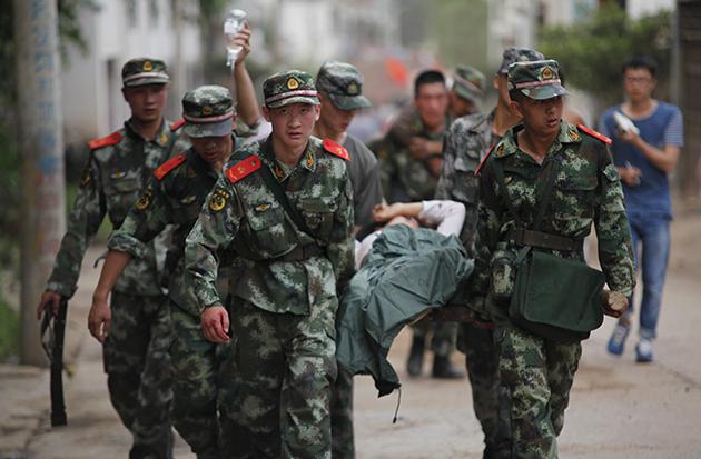 Angka korban akibat gempa bumi di China mencecah 367 nyawa