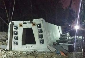 First body recovered from MRT concrete span collapse in Kota Damansara