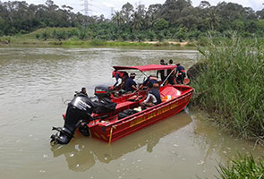 Mayat dua beradik lemas ditemui selepas dua hari hilang di Sungai Perak