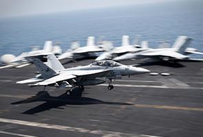US carries out 15 air strikes near Iraq dam military