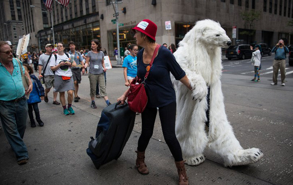 Protes perubahan iklim dunia