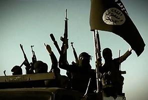 Jet pejuang Arab Saudi UAE sertai serangan udara AS di Syria
