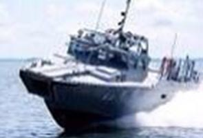 Bot tempur TLDM dilaporkan terputus hubungan di perairan Sabah