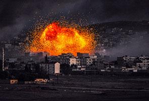 IS lancar serangan baharu di Kobani, 10 maut