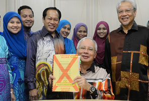 Najib tinjau persiapan Bajet 2015