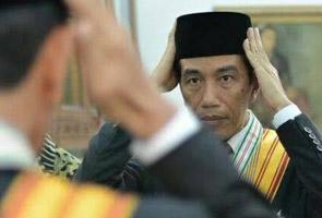 Presiden Indonesia Jokowi umum 'Kabinet Kerja 2014-2019'