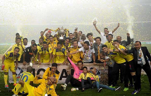 Pahang Juara Oppo Piala Malaysia 2014