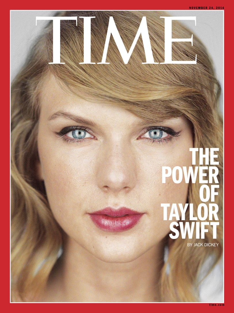 Ratu media sosial,Taylor Swift berada di puncak kerjaya apabila jadi rebutan majalah terkemuka sebagai muka depan.