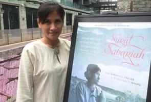 #SuratSabariah: Sherie Merlis tidak mahu dibayangi lakonan Sarimah