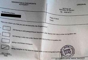 Penyokong Malaysia dihalang masuk Singapura