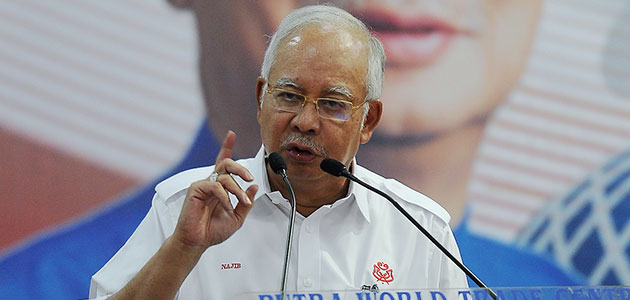 Najib Razak,UMNO Selangor