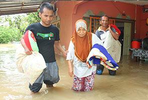 136 masih tinggal di pusat pemindahan banjir