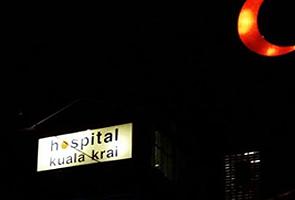 Hospital Kuala Krai bergelap