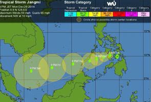 Ribut tropika Jangmi lenyap sepenuhnya semalam - Jabatan Meteorologi