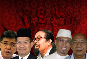Lima bekas tahanan ISA dapat pampasan RM4.5 juta