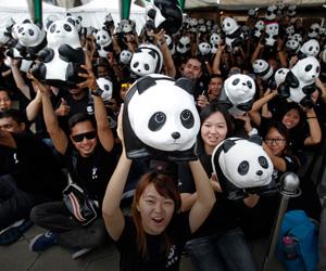Ribuan 'Panda' Takluk Dataran Merdeka
